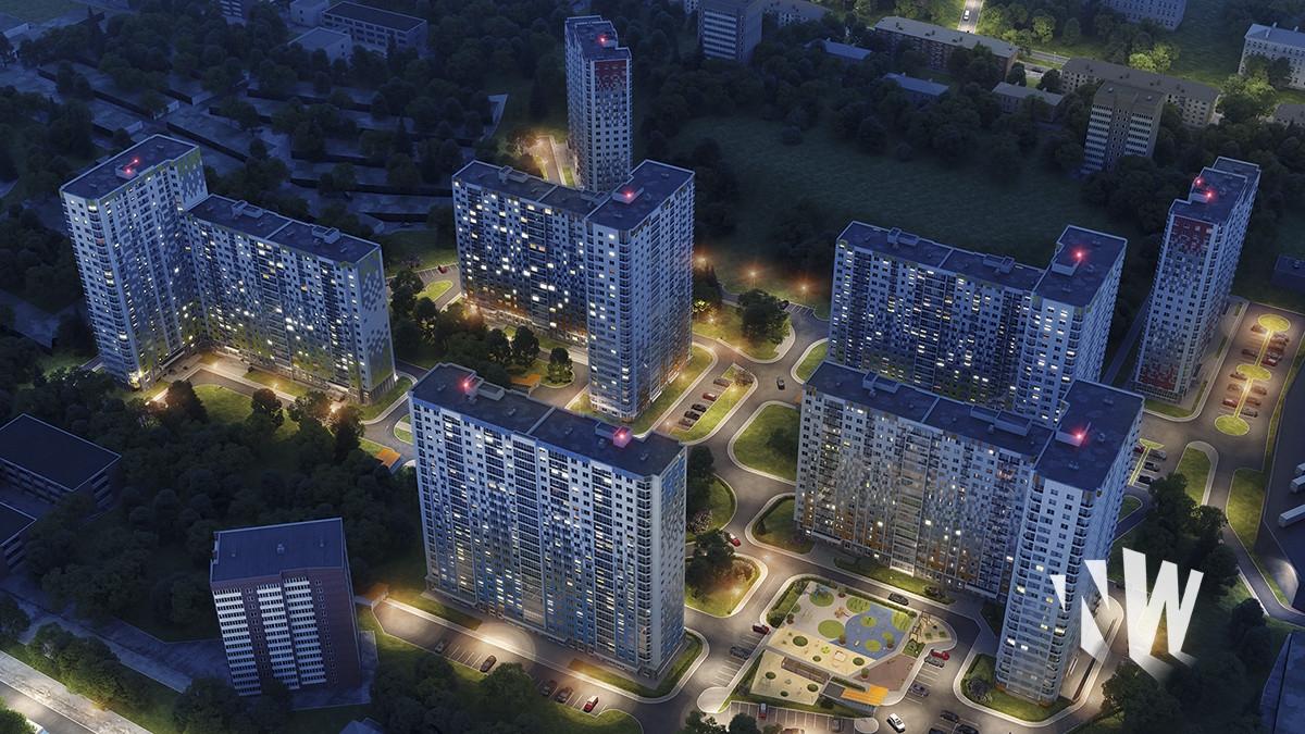 Стоимость 3D визуализации жилого комплекса