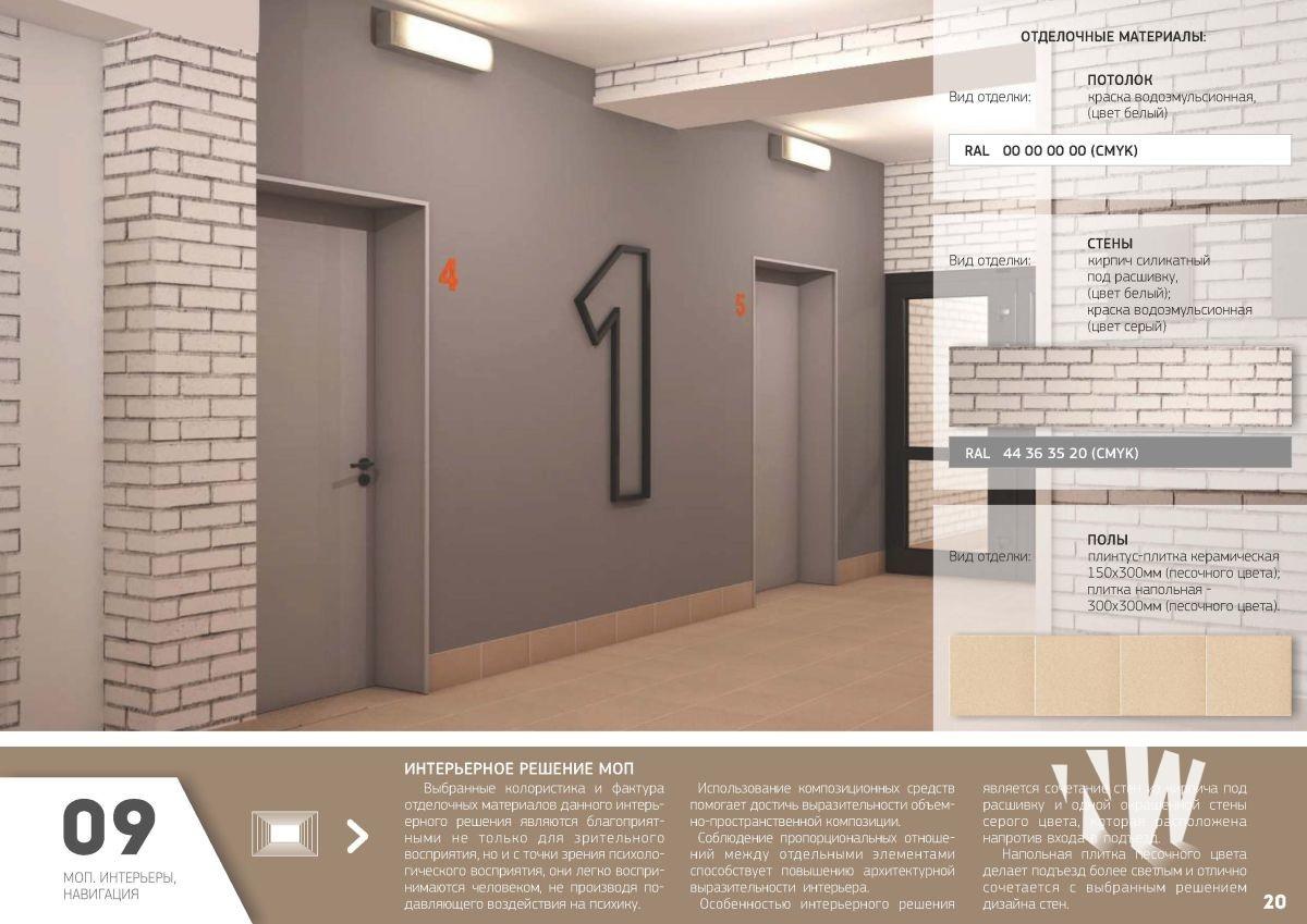 дизайн входной группы многоквартирного дома