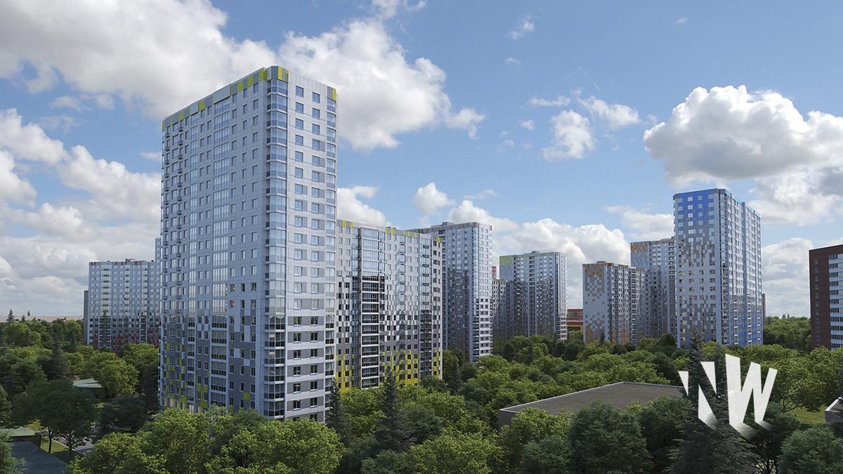 Визуализация жилого комплекса, цена