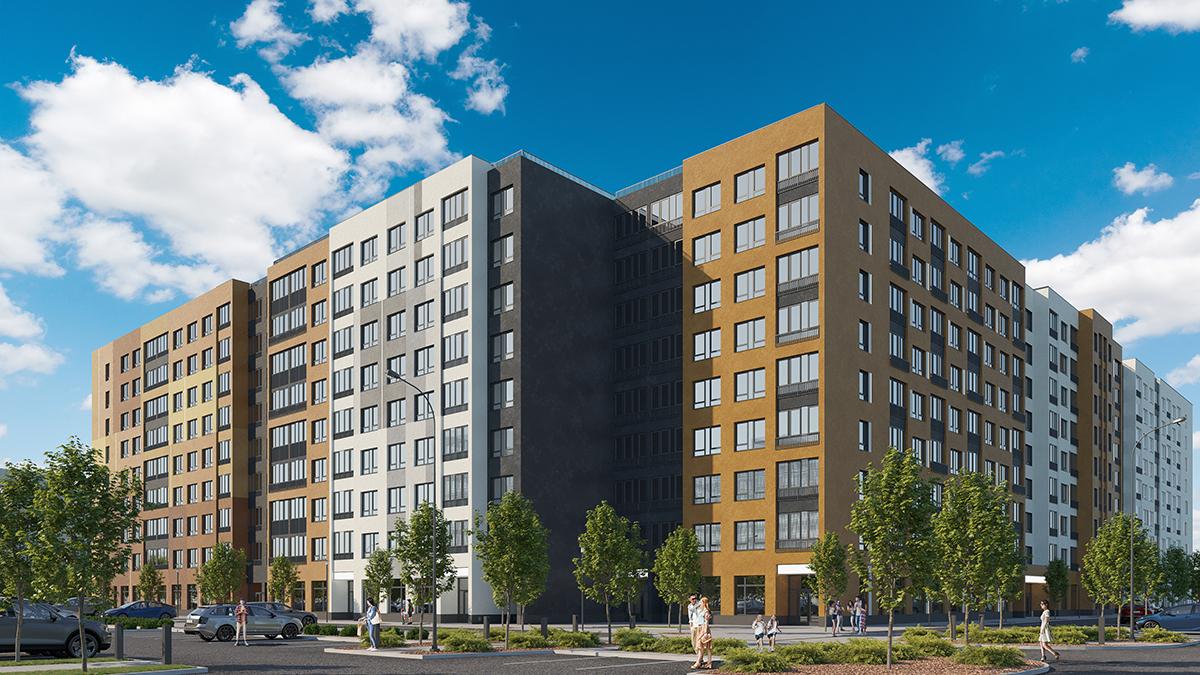визуализация жилого комплекса цена